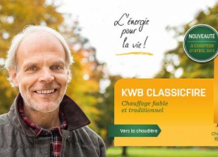 Chaudière à bois KWB